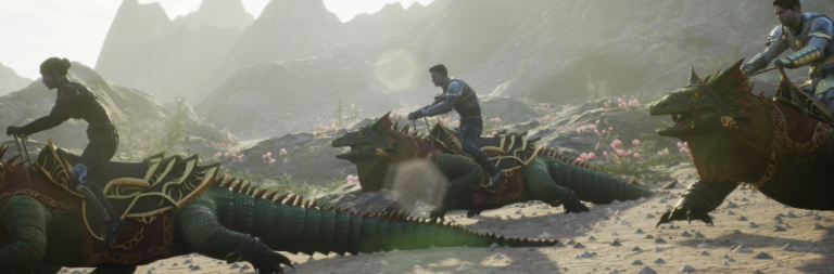 Ashes of Creation shares the lore and the development of the Scalerunner mount