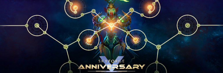 Skyforge announces fifth anniversary update for PC, with a new invasion on March 25