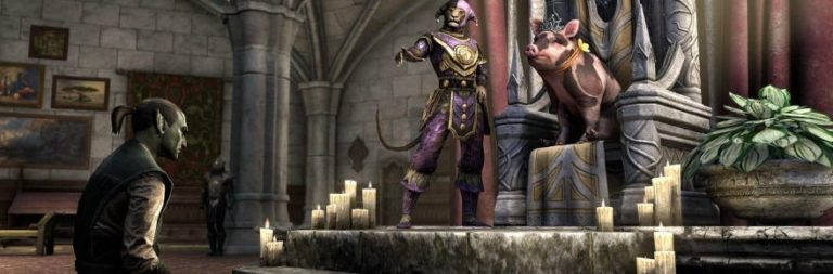 The Elder Scrolls Online is having a laugh riot with the Jester's Festival starting March 26