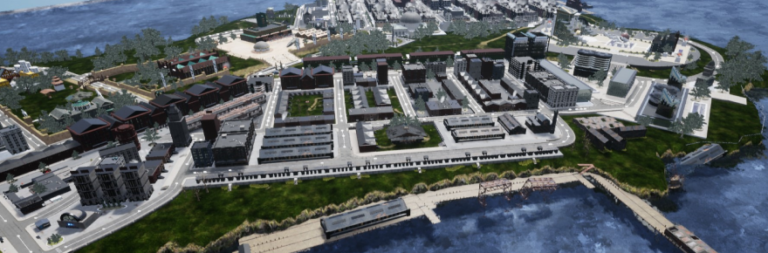 City of Titans shows off some recent images of Alexandria City