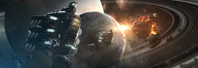 EVE Online details management of the sandbox ecosystem and explains the intention of resource distribution