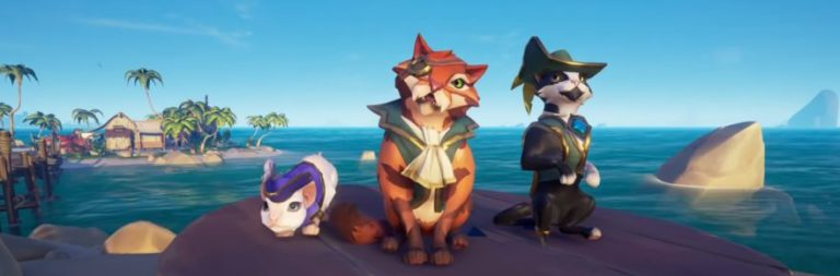 Sea of Thieves launches its next update on April 22 and it has cats