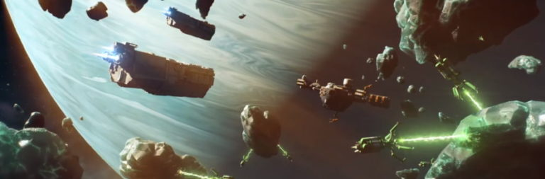 Space MMORTS Starborne is a 'go' for open beta