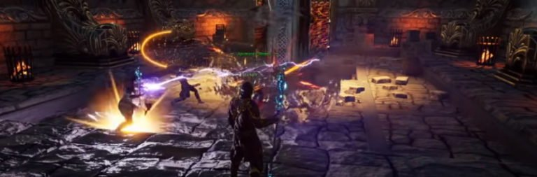 Ashes of Creation shows off alpha gameplay, takes a stance against DPS meters