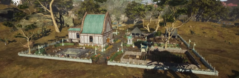 Ashes of Creation partially lifts its NDA, discusses open world housing and caravans in a livestream