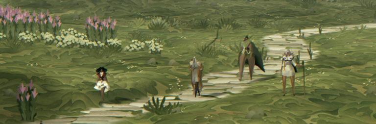 Book of Travels lanza un video lleno de momentos de juego en un fragmento en solitario