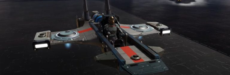 Dual Universe is rearranging the controls on the Speeder for easier use
