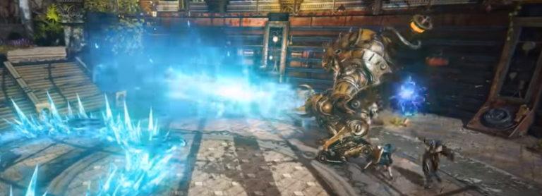 Steampunkish Elyon proposes 'massive' Korean beta test this summer