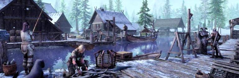 Elder Scrolls Online's Greymoor chapter sends players back to Skyrim today