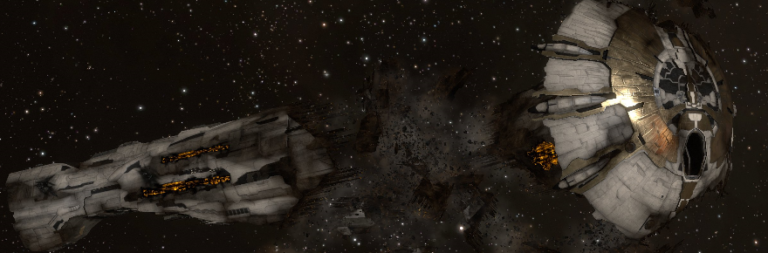 EVE Online looks back at the death of the first Titan and elaborates on the benefit of in-game loss