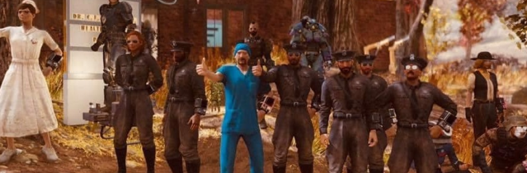 Fallout 76 players come together to aid an in-game doctor with real-life medical needs