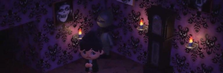 Animal Crossing player recreates Disney's Haunted Mansion