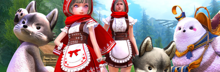 TERA dons Little Red Riding Hood costumes for PC anniversary as Gameforge takes on Russian publishing