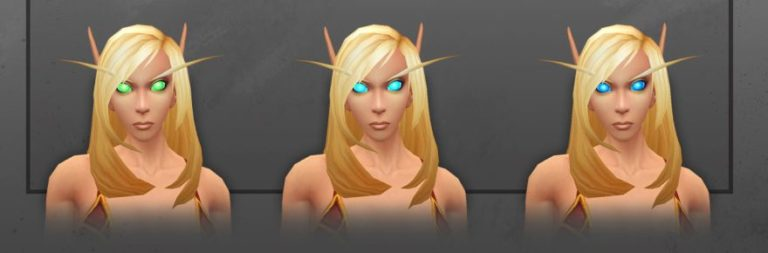 World of Warcraft shows off customization changes coming with the Shadowlands pre-patch