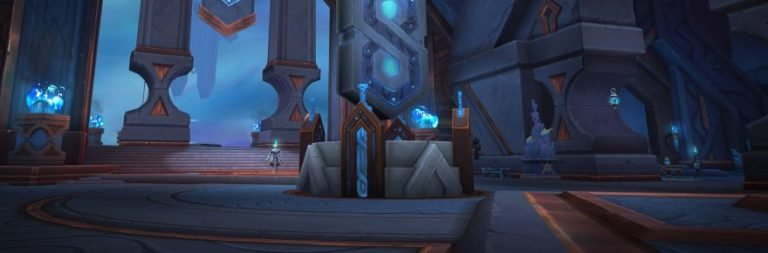 World of Warcraft previews the Shadowlands hub of Oribos