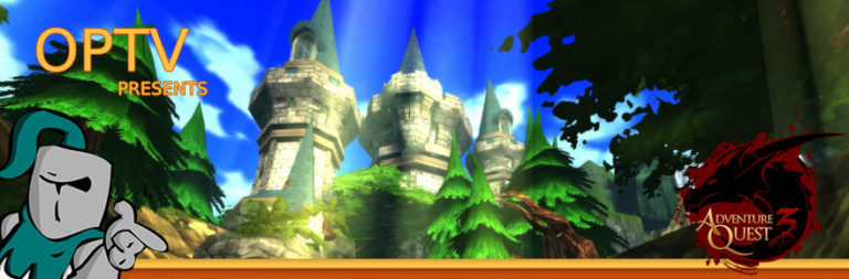 The Stream Team: Going in the Nature Guardian Tower in AdventureQuest 3D