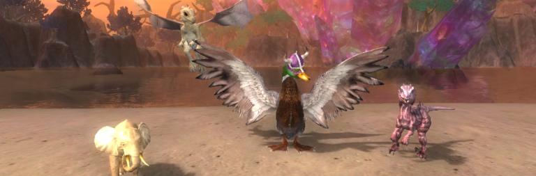 EverQuest II announces Scorched Sky and Familiar Season 7, EverQuest's Aradune server expands its population