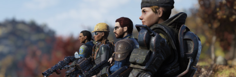 Fallout 76's public teams feature plans to make it easier to group up and gives bonuses for doing so