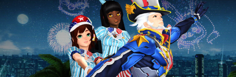 Phantasy Star Online 2 adds new Urgent Quests and an Independence Day event