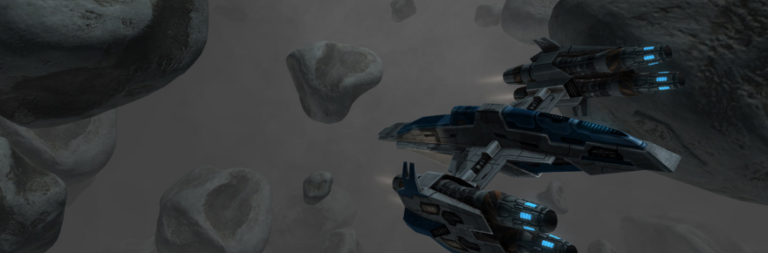 Vendetta Online adds a hidden star system and its new economy in the latest updates