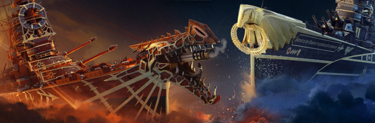 World of Warships brings Warhammer 40K ship bundles to the game