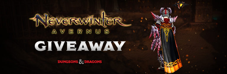 Enter to win a Neverwinter Gift of the Twisted Noble for PC courtesy of PWE and MOP!