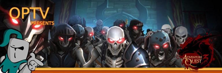 The Stream Team: Socially un-distant undead are sieging AQ3D's Battleon!