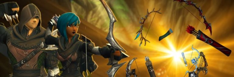 AdventureQuest 3D previews the bows coming for the new Ranger class next week