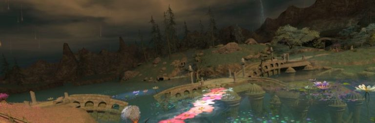 Final Fantasy XIV launches its special site for patch 5.3, Reflections in Crystal