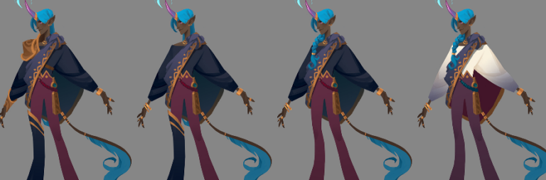 Check out this magnificent unicorn man that we never got to see added to PWE's MOBA Gigantic
