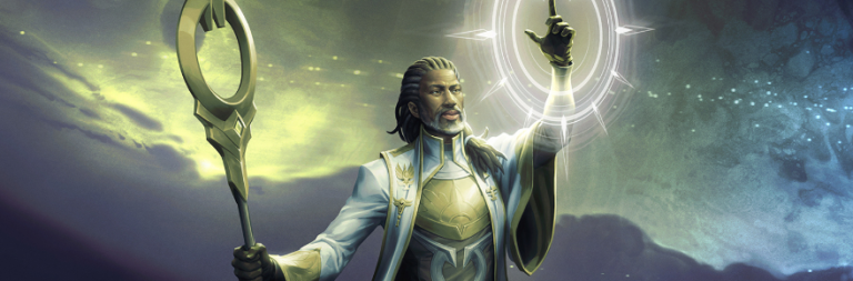 Magic Legends' next starting class is the white mana-using Sanctifier