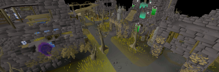 Old School RuneScape adds the Ferox Enclave Wilderness hub and talks about the future of PvP