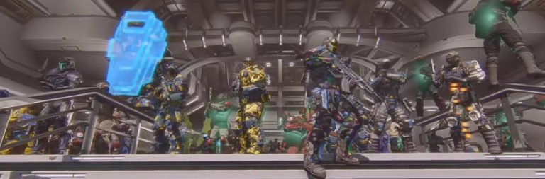 The in-game memorial for a fallen PlanetSide 2 player spanned four instances this weekend