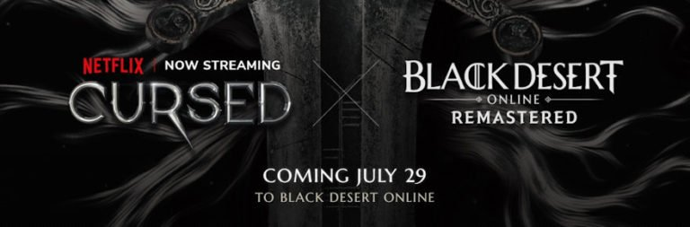 Black Desert offers free play event ahead of transmedia synergy collab with Netflix's Cursed