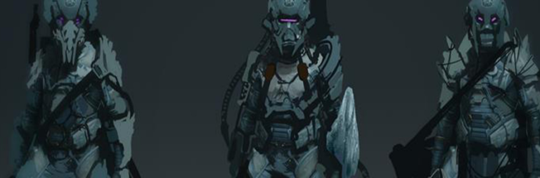 Star Citizen's artists create armor concepts using space crab pieces in a livestream