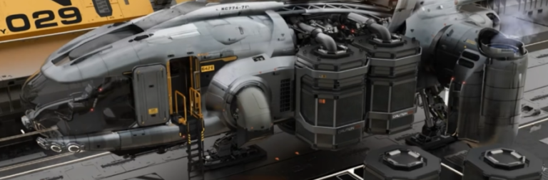 Star Citizen deep-dives the art underpinning its ship design