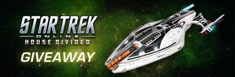 Enter to win a Star Trek Online Federation Fleet Admiral Faction or Elite Starter pack in honor of House Divided's launch