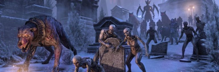 The Elder Scrolls Online previews a whole castle full of the undead with Castle Thorn