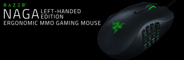 First impressions and hands-on with Razer's left-handed Naga MMO mouse