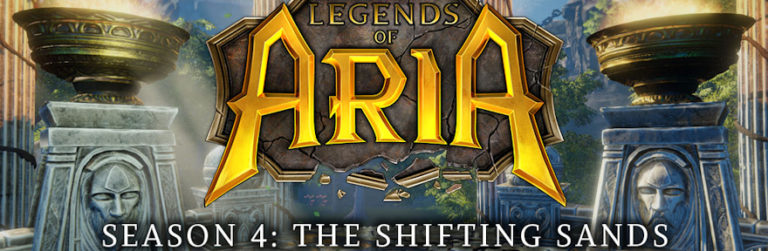 Legends of Aria's Shifting Sands update is live with new PvE and PvP content