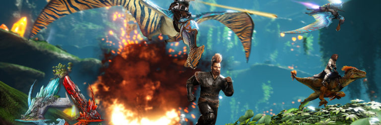 ARK Survival Evolved celebrates three years since official launch, drops Crystal Isles map for console