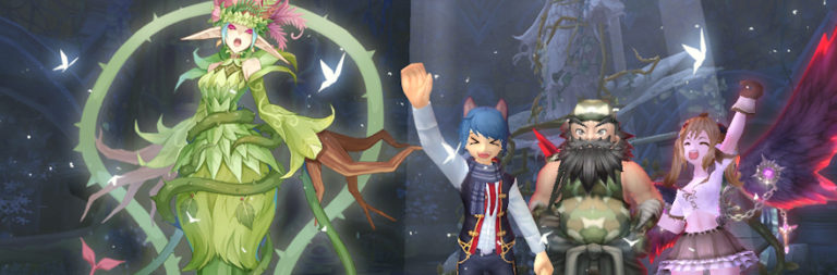 Take on the evil plant queen Alice in Grand Fantasia's August update