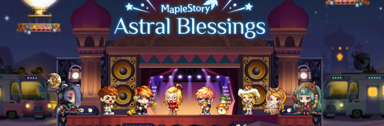 MapleStory previews its Astral Blessings event, winds down Burning World