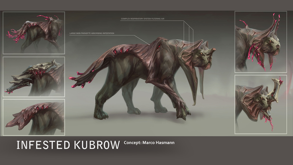 warframe-tennocon-InfestedKubrowConcept.