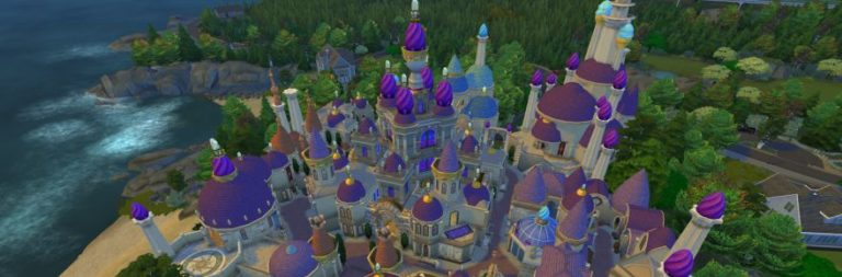 Check out Sims 4 builds for living in Dalaran or Darnassus… or in a world of Overwatch