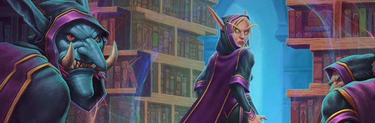 Hearthstone will have a three-week event all about Scholomance Academy's Hidden Library