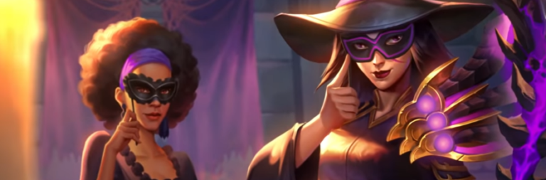 Hearthstone begins Halloween celebrations with the Masquerade Ball event