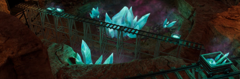 Legends of Aria provides a sneak peek at the Necrothium mines and heirloom items