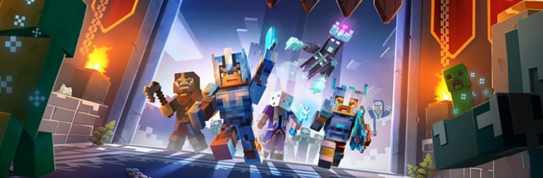Minecraft Dungeons releases a frost-filled new DLC and a 'Hero Edition' for Nintendo Switch