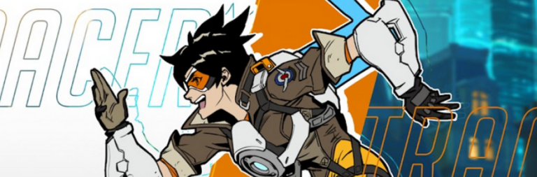 Overwatch is all about Tracer with a new comic book series and special event